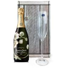 Buy & Send Perrier Jouet Belle Epoque 2011 75cl, And Single Flute Gift box