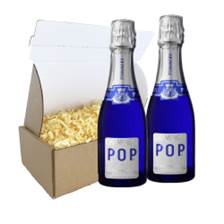Buy & Send Pommery POP Champagne 20cl Duo Postal Box
