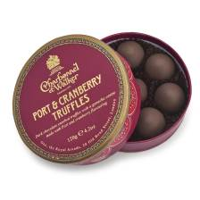 Buy & Send Charbonnel et Walker Victorian Theatre Christmas Port and Cranberry Truffles, 120g