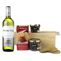 Buy & Send Puerta Vieja Blanco Bodegas Riojanas  - Spain And Pate Gift Box