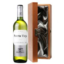 Buy & Send Puerta Vieja Blanco Bodegas Riojanas  - Spain in Luxury Gift Box