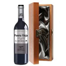 Buy & Send Puerta Vieja Tinto Bodegas Riojanas  - Spain in Luxury Gift Box