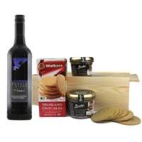 Buy & Send Puzzle Ridge Merlot - Australia And Pate Gift Box