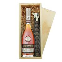 Buy & Send Remy Martin VSOP & Truffles Wooden Box