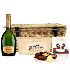 Buy & Send Ruinart Brut 75cl Champagne 75cl And Chocolates Hamper