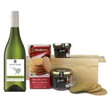 Buy & Send South Island Sauvignon Blanc - New Zealand And Pate Gift Box