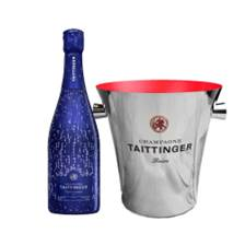 Buy & Send Taittinger Nocturne City Lights Edition And Branded Ice Bucket Set