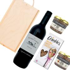 Buy & Send The Home Farm Shiraz And Pate Gift Box
