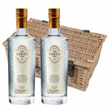 Buy & Send The Lakes Gin 70cl Twin Hamper (2x75cl)