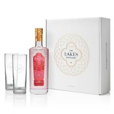 Buy & Send The Lakes Pink Gin Gift Pack with Glasses