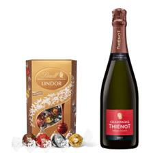 Buy & Send Thienot Brut Champagne 75cl With Lindt Lindor Assorted Truffles 200g