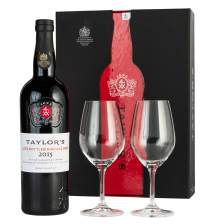 Buy & Send Taylors Late Bottled Vintage Port 2015 & Glasses Gift Box