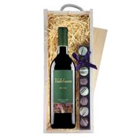 Buy & Send Valduero Crianza - Spain & Truffles, Wooden Box