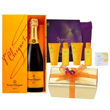 Buy & Send Veuve Clicquot Champagne, Chocolates & Relaxation