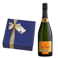 Buy & Send Veuve Clicquot Vintage 2008 75cl With Belgid'Or Fine Belgin Chocolates (345g)