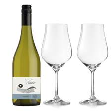 Buy & Send Vinoir Chardonnay And Crystal Classic Collection Wine Glasses