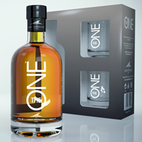 Buy & Send The Lakes Whisky Gift Pack with Glasses