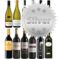Buy & Send Silver Wine Club 6 Bottles of Wine a Month For 67 Pounds a month