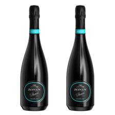 Buy & Send Zonin Prosecco Cuvee DOC 1821 Duo Set