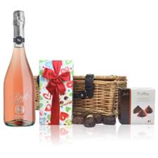 Buy & Send Zonin Rose - A lightly coloured sparkling Rose And Chocolates Hamper