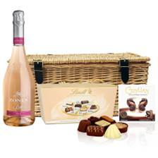 Buy & Send Zonin Sparkling Rose And Chocolates Hamper