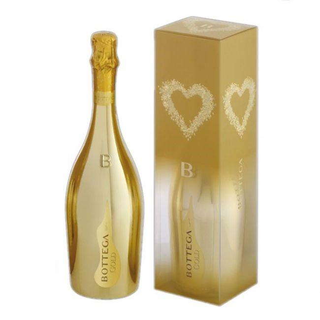 bottega gold prosecco 75cl gift boxed